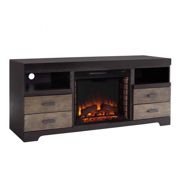 Trandling Fireplace Media Console 10