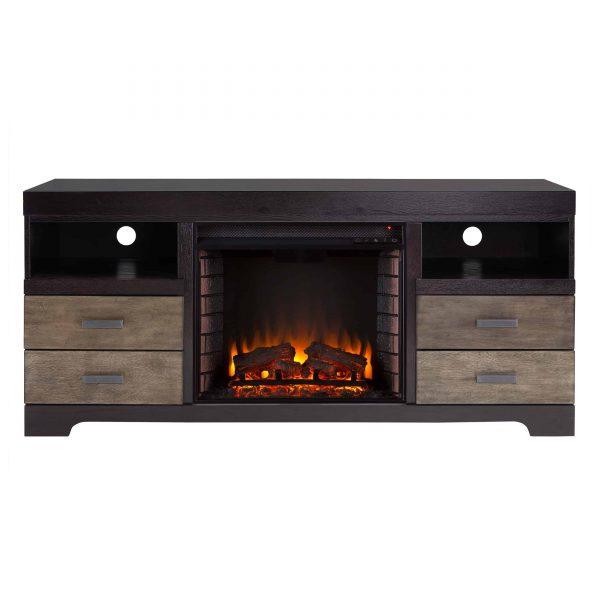Trandling Fireplace Media Console 11