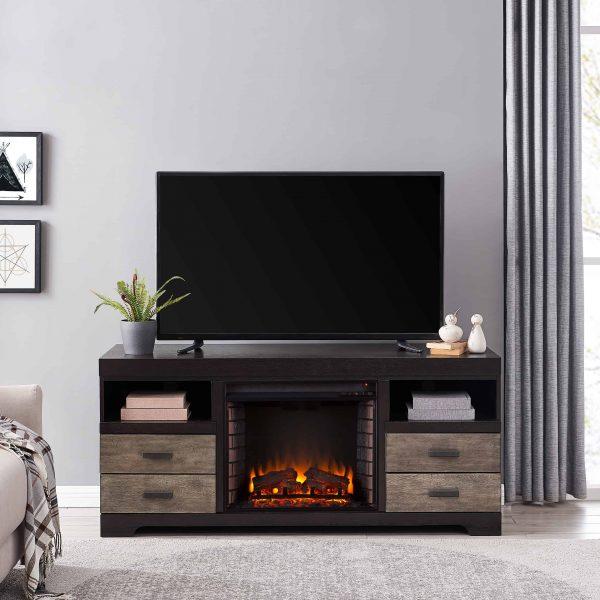 Trandling Fireplace Media Console