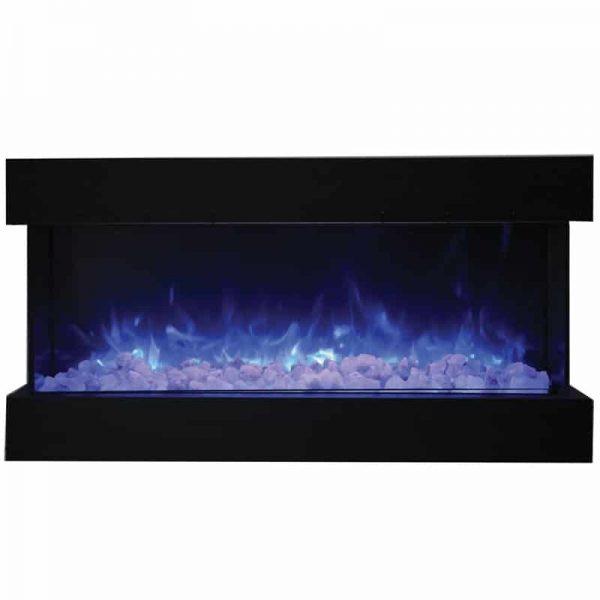 """Tru View 50"""" 3 Sided Glass Electric Fireplace 1"""