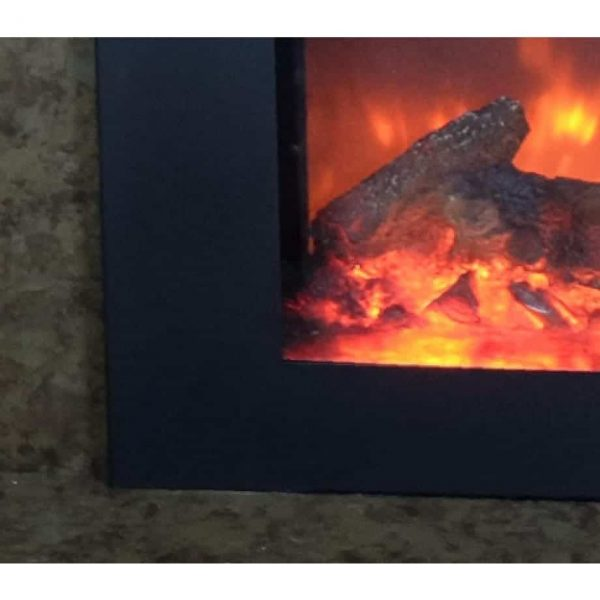 True Flame electric fireplace insert 2