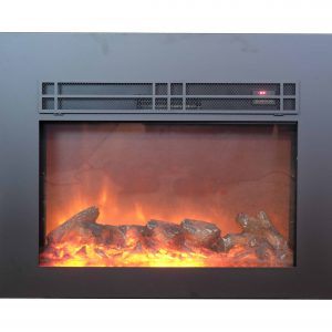True Flame electric fireplace insert