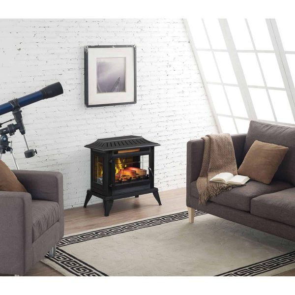 Twin-Star International Infragen 3D Electric Fireplace Stove with Safer Plug 1