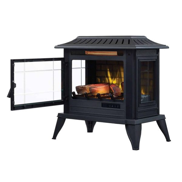 Twin-Star International Infragen 3D Electric Fireplace Stove with Safer Plug 3