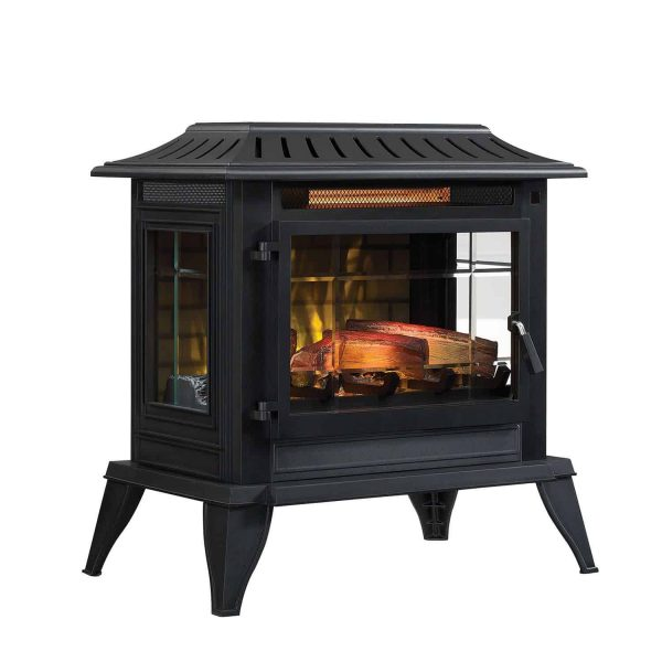 Twin-Star International Infragen 3D Electric Fireplace Stove with Safer Plug 4