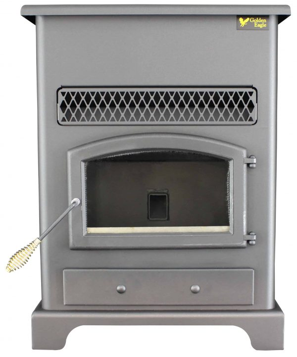 US Stove 2,200 Sq. Ft Pellet Heater with Ash Pan 13