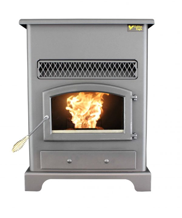 US Stove 2,200 Sq. Ft Pellet Heater with Ash Pan 3