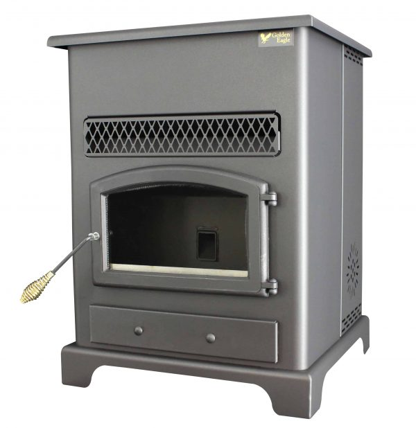 US Stove 2,200 Sq. Ft Pellet Heater with Ash Pan 5