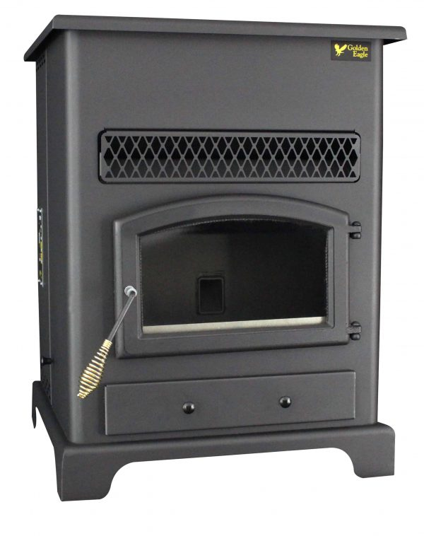 US Stove 2,200 Sq. Ft Pellet Heater with Ash Pan 8