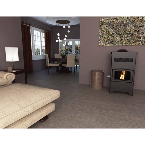 US Stove 2200 Sq. Ft. EPA Certified Pellet Stove With 60 lb Hopper 1