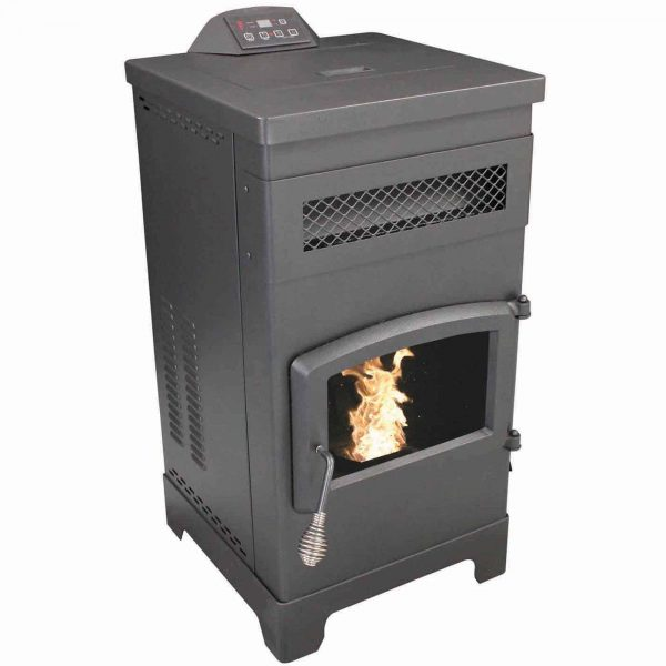 US Stove 2200 Sq. Ft. EPA Certified Pellet Stove With 60 lb Hopper 3