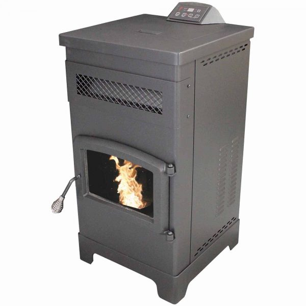 US Stove 2200 Sq. Ft. EPA Certified Pellet Stove With 60 lb Hopper 5