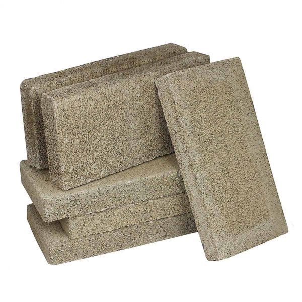 US Stove FireBrick 4.5 x 9 x 1.25 Inch Wood Stove Ceramic Fire Bricks (24 Brick) 1