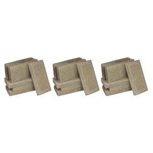 US Stove FireBrick 4.5 x 9 x 1.25 Inch Wood Stove Ceramic Fire Bricks(18 Bricks)