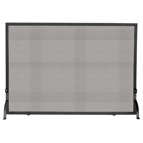 UniFlame Single Panel Olde World Iron Fireplace Screen 1
