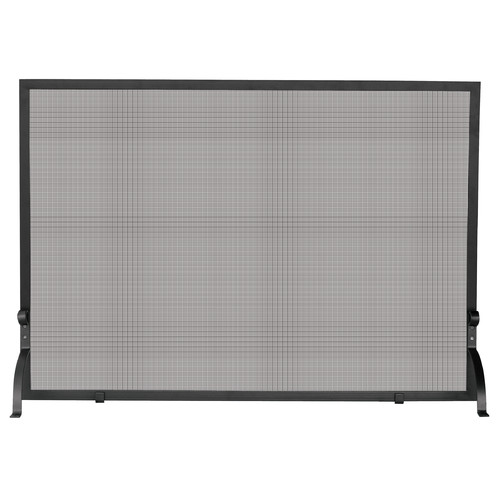 UniFlame Single Panel Olde World Iron Fireplace Screen 2