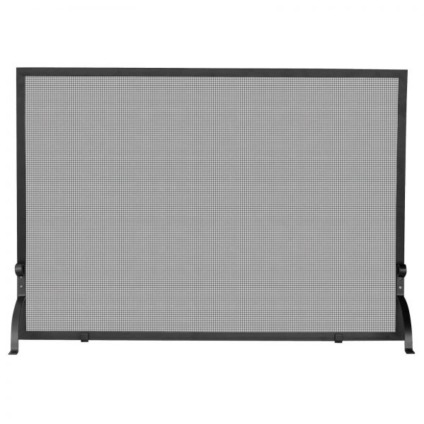 UniFlame Single Panel Olde World Iron Fireplace Screen