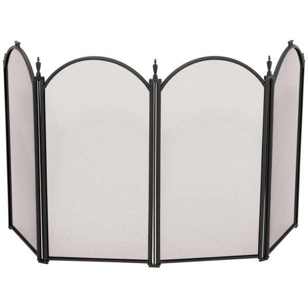 Uniflame 4 Panel Mini Fireplace Screen 1