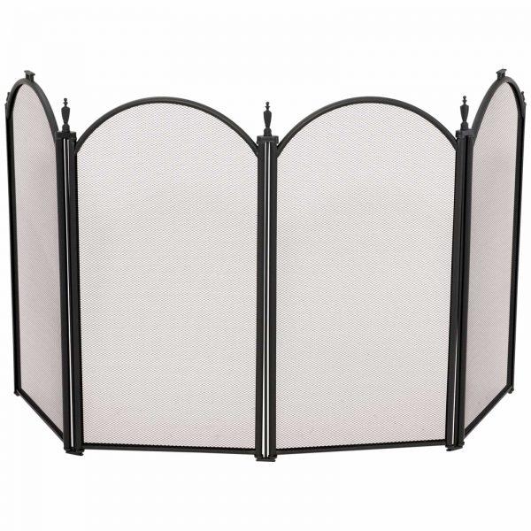 Uniflame 4 Panel Mini Fireplace Screen