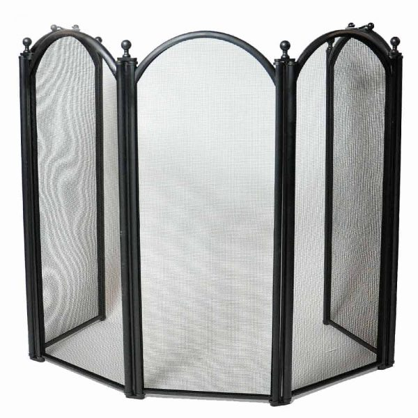 Uniflame Corporation 5 Panel Fireplace Screen 1