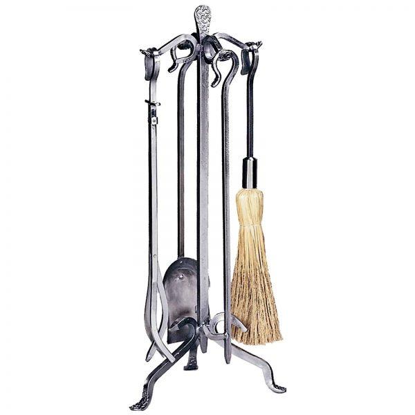 Uniflame Langer Hook Handle Fireplace Tool Set 1
