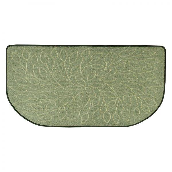 Uniflame Nylon Hearth Rug - Leaves
