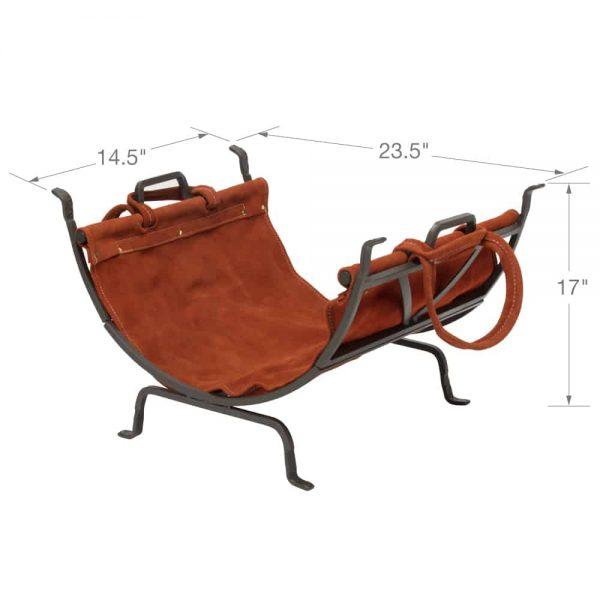 Uniflame Olde World Iron Log Holder 3