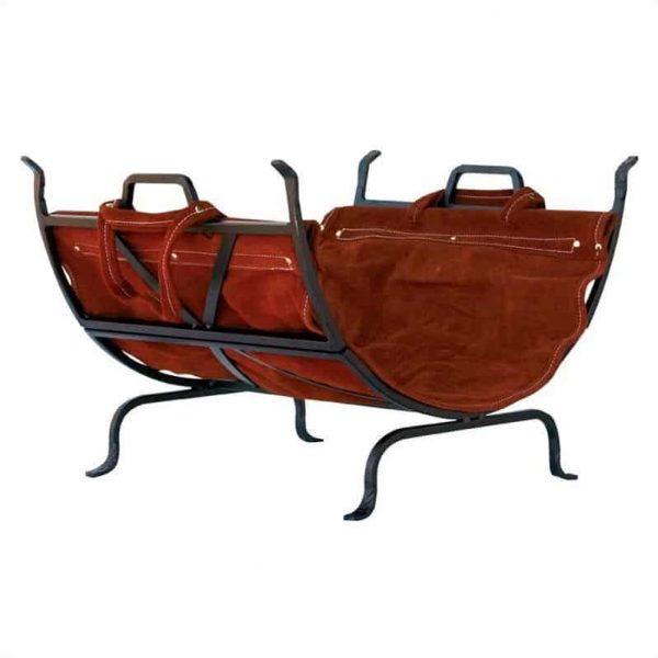 Uniflame Olde World Iron Log Holder