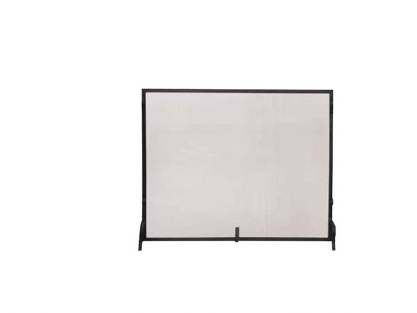Uniflame Single Panel Haven Fireplace Screen 1
