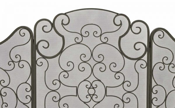 Urban Designs Monticello Protective 3-Panel Fireplace Screen 1