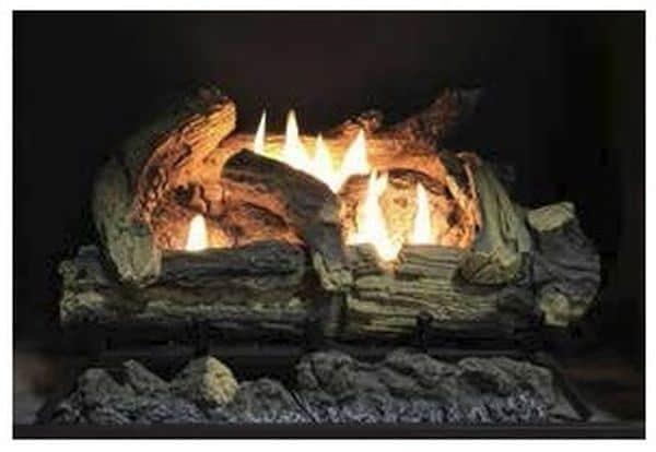 """VF Manual Burner for 18"""" Kennesaw Logs - Natural- BURNER ONLY"""