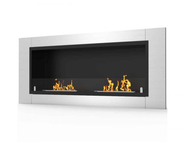 Valencia Wall Mounted Ethanol Fireplace 2