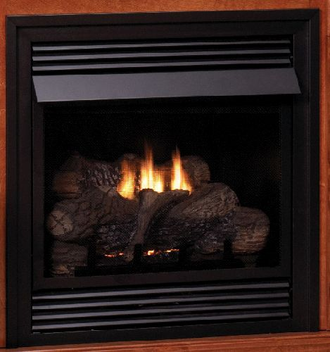 """Vent-Free 24"""" LP Thermostat Control Fireplace"""