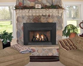 Vent-Free MV 28000 BTU Fireplace Insert - Liquid Propane