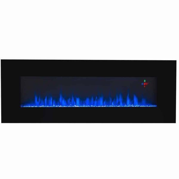 Ventless Electric Wall Mounted Modern Fireplace Heater 3