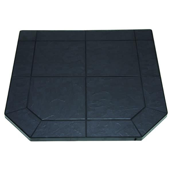 Volcanic Sand Tile Single Cut Corner Stove Board