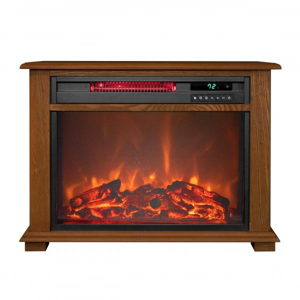 Warm Living 3 Quartz Freestanding Infrared Fireplace Heater 1
