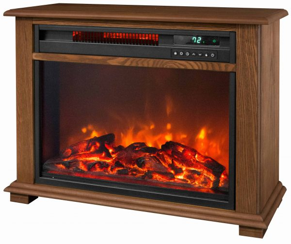 Warm Living 3 Quartz Freestanding Infrared Fireplace Heater