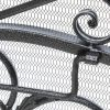 Waters Fireplace Screen, Silver 7
