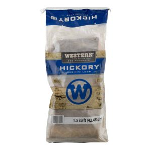 Western Premium BBQ Products Hickory BBQ Mini Logs