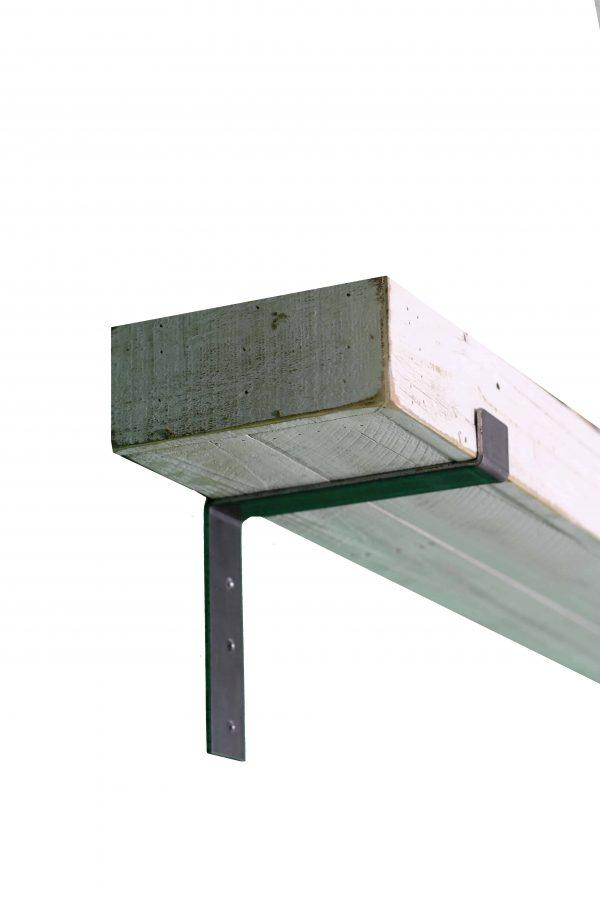 White Industrial Mantel Shelf 3