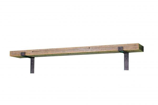 White Industrial Mantel Shelf 4