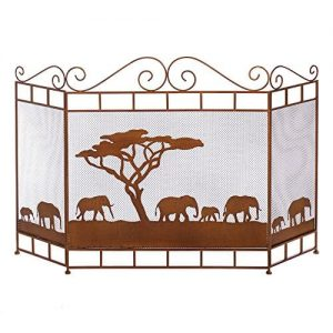 Wild Savannah Fireplace Screen Home Decor Home Decorative Items Accessories and Gifts