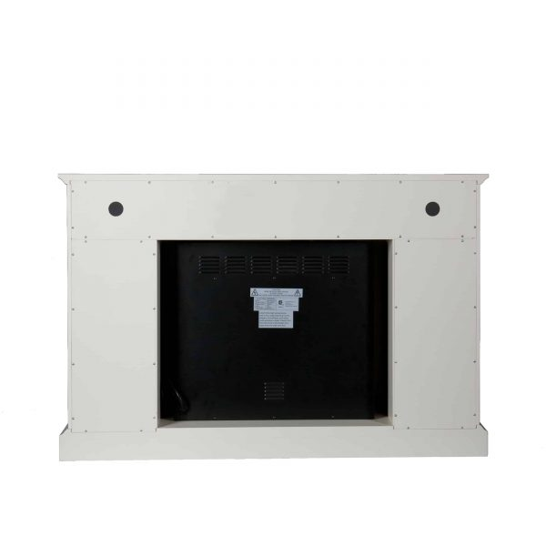 Wiltshire Color Changing Media Fireplace w/ Storage 10