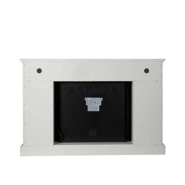 Wiltshire Color Changing Media Fireplace w/ Storage 8