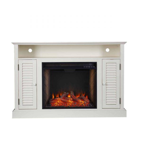 Wiltshire Smart Media Fireplace w/ Storage 2