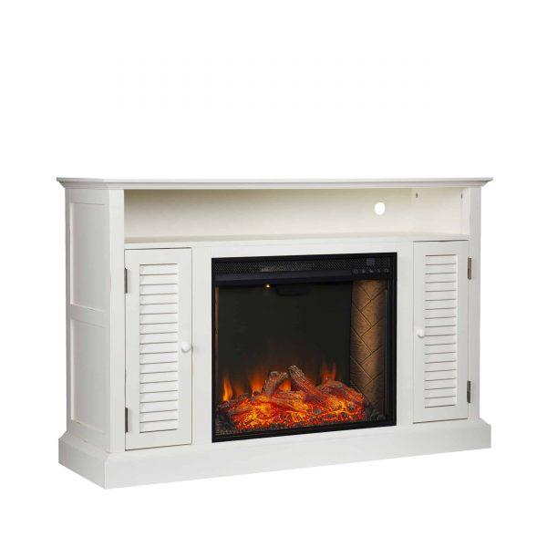 Wiltshire Smart Media Fireplace w/ Storage 4
