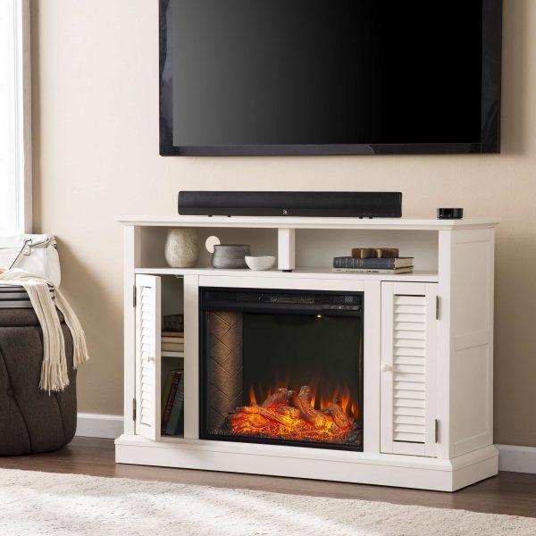 Wiltshire Smart Media Fireplace w/ Storage