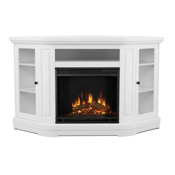 Windom Electric Corner Fireplace by Real Flame 1