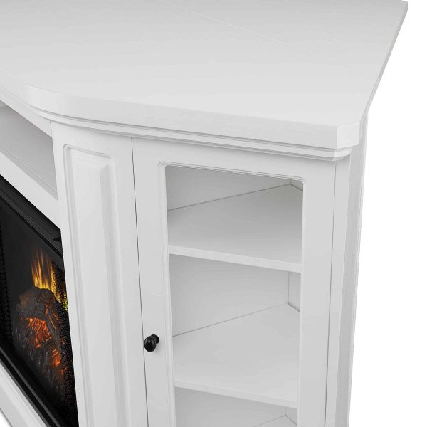 Windom Electric Corner Fireplace by Real Flame 2